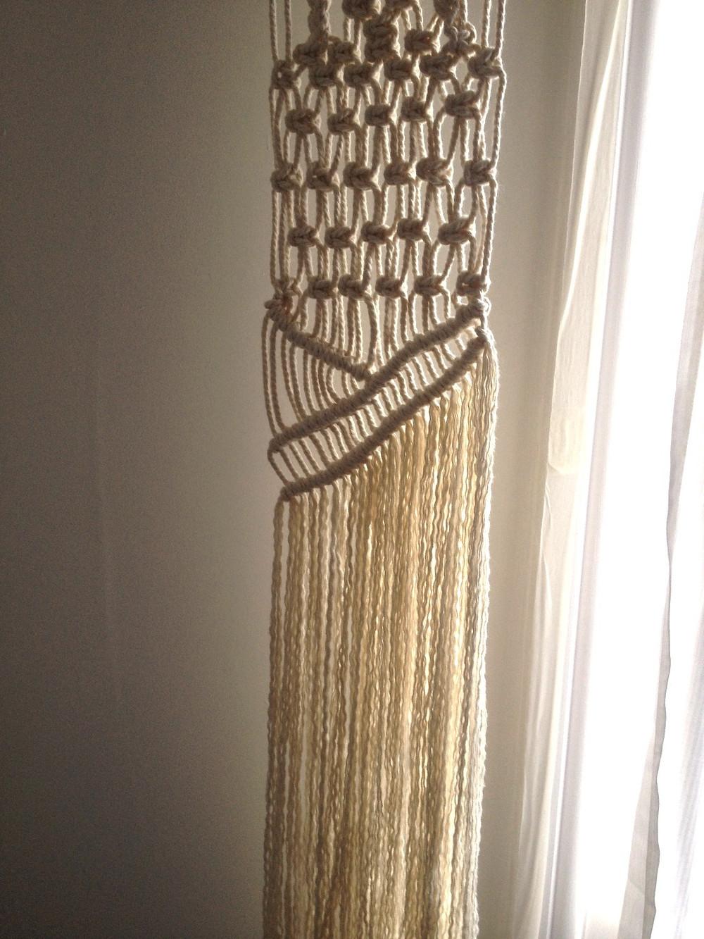 macrame detail fringe