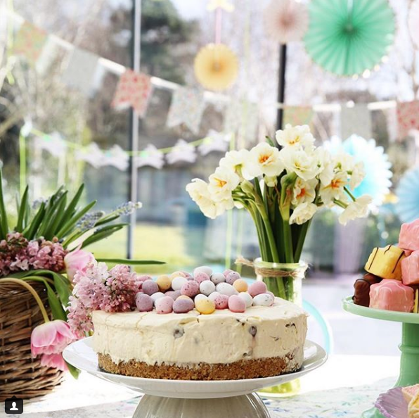 Easter cake decor by Emily Quinton