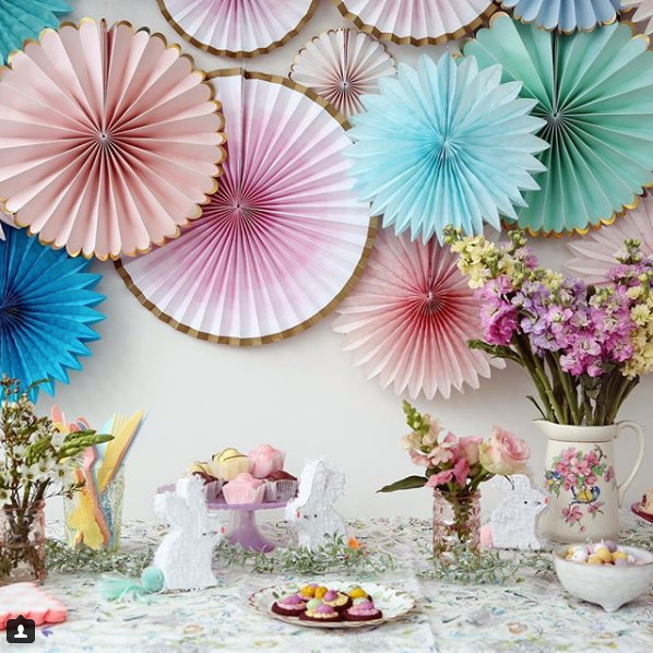 Easter decor by Emily Quinton