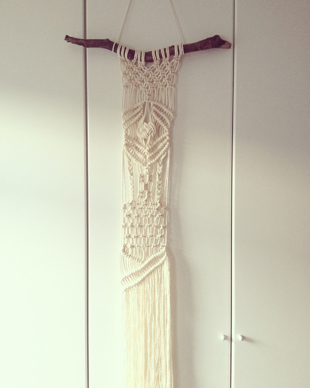 Final macrame before the new craft