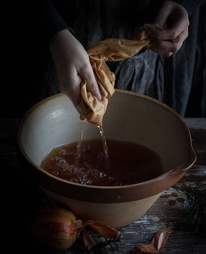 naturally dyeing workshop