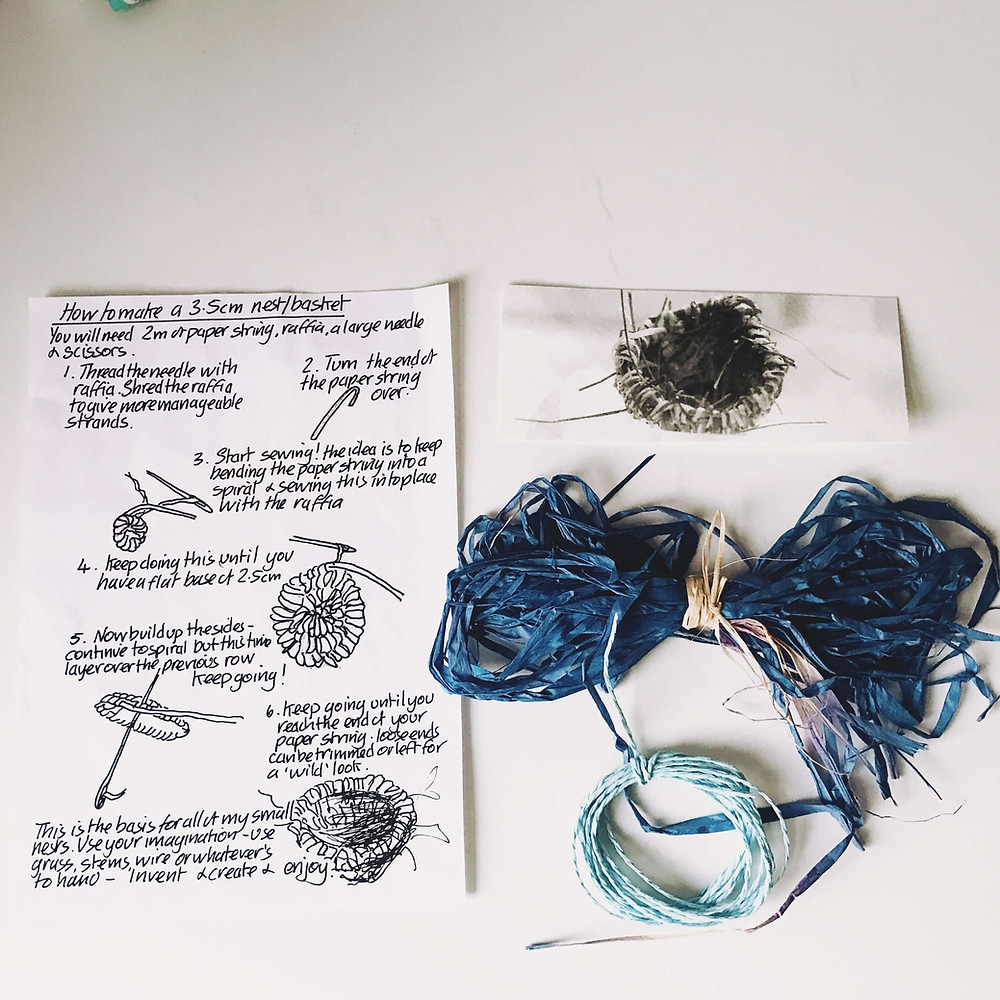 HOW TO MAKE A BASKET INSTRUCTIONS