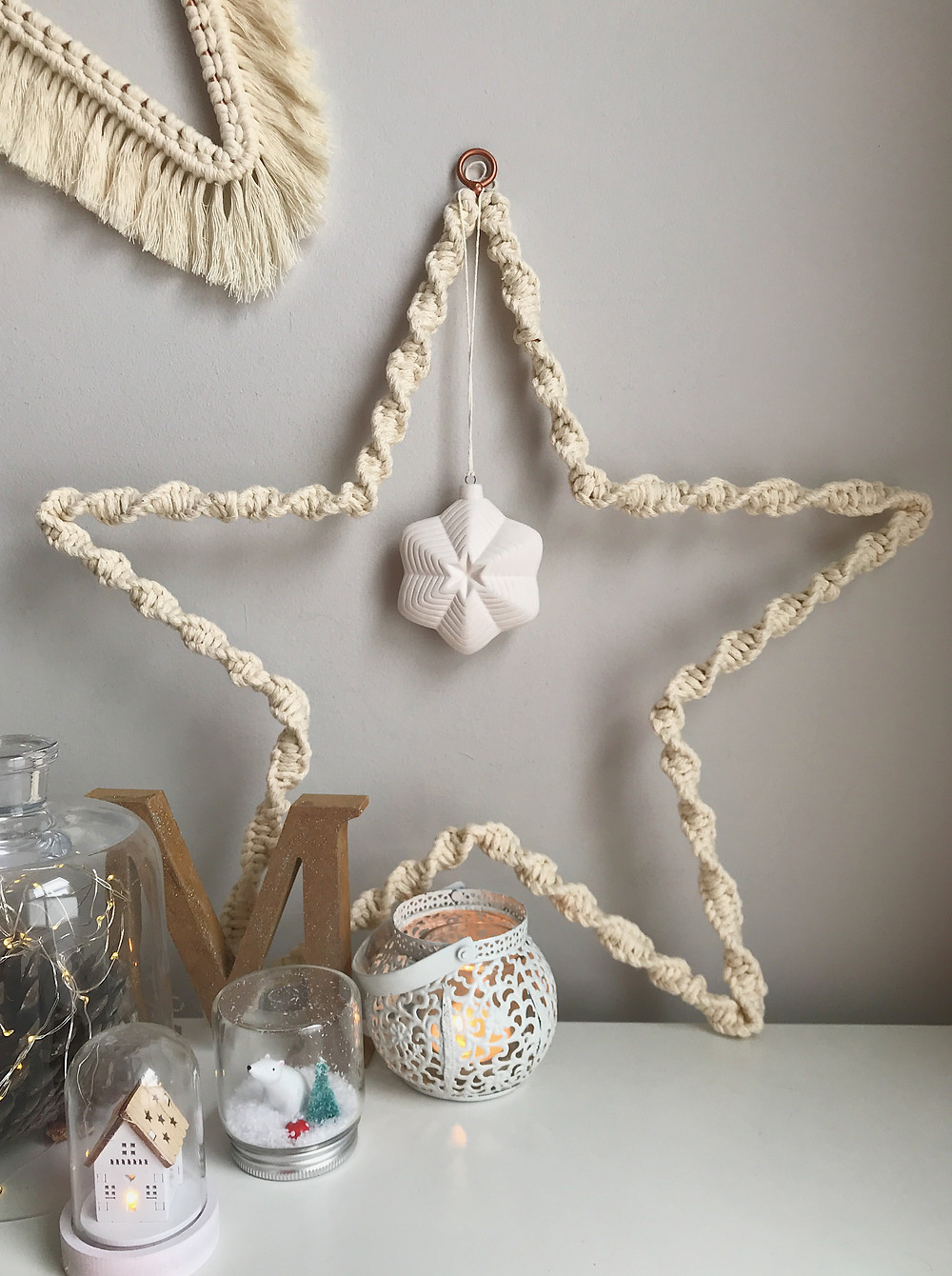 Macrame Star wreath
