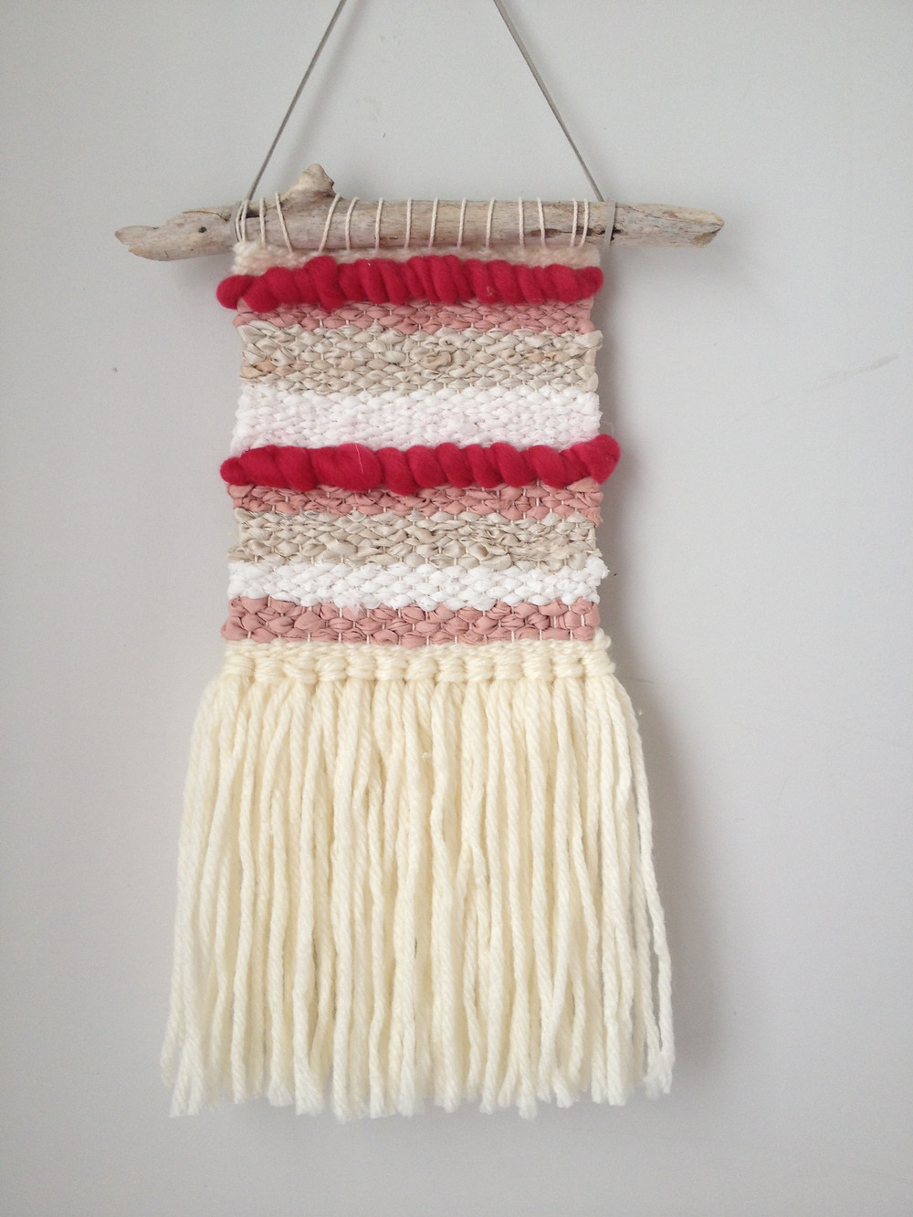 loom weaving result