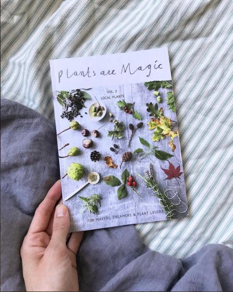 Plant are magic magazine