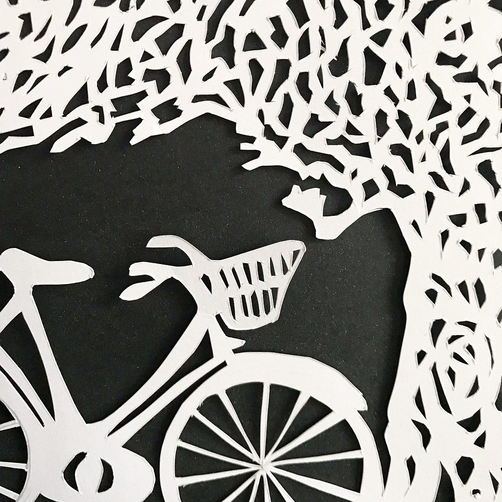 paper cutting final product detail