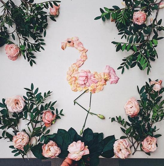 Veronika from Kutovakika being creative on instagram