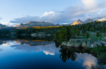 Sunset in the Wyoming Backcountry