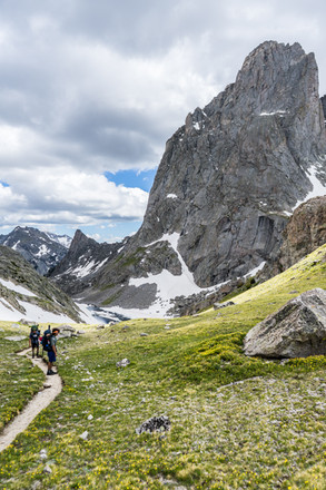 Hiking in the Wyoming Backcountry