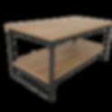 mesa de centro rectangular cholula diago