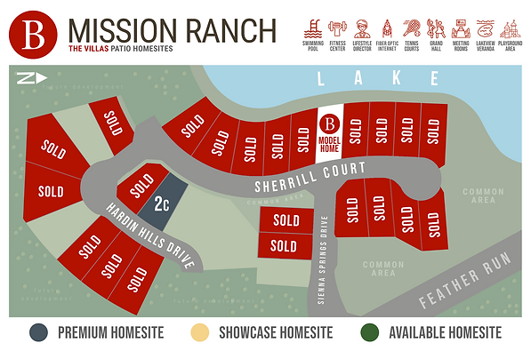 Mission Ranch - The Villas - Available H