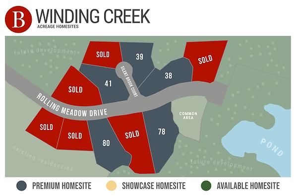 Winding Creek Estates - Available Homesi