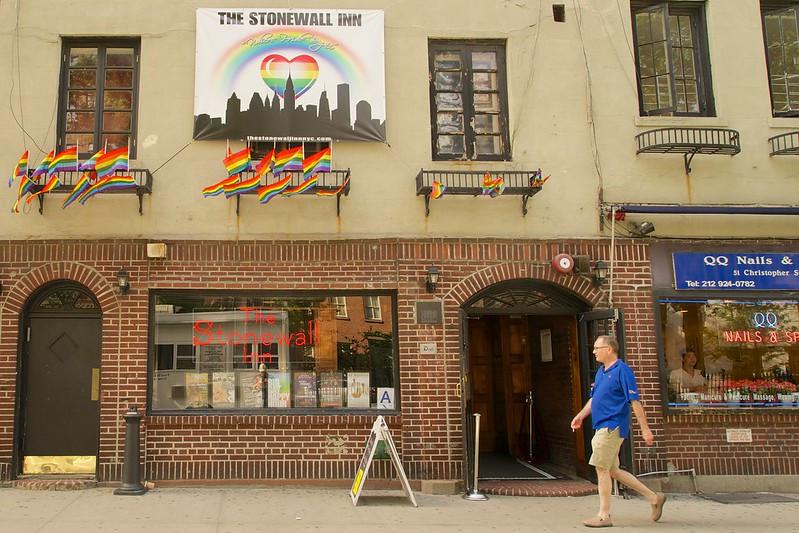 Stonewall Inn Gay flags