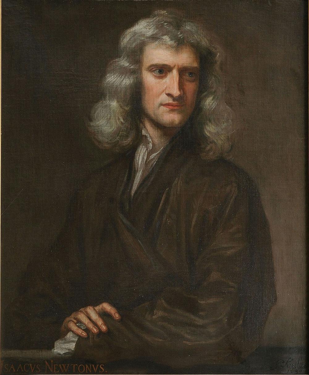Retrato de Isaac Newton Portrait of