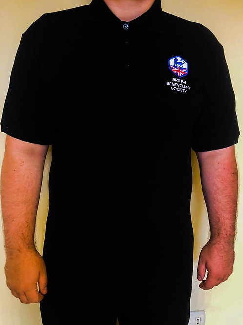 BBS Black Polo Shirt (Male or Female)