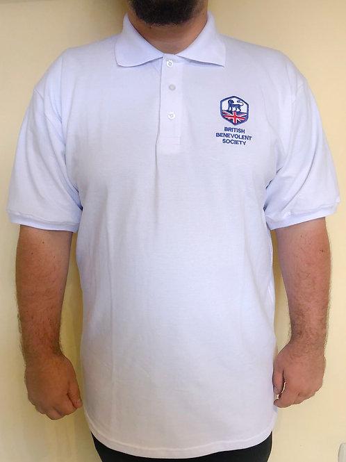 BBS White Polo Shirt (Male or Female)