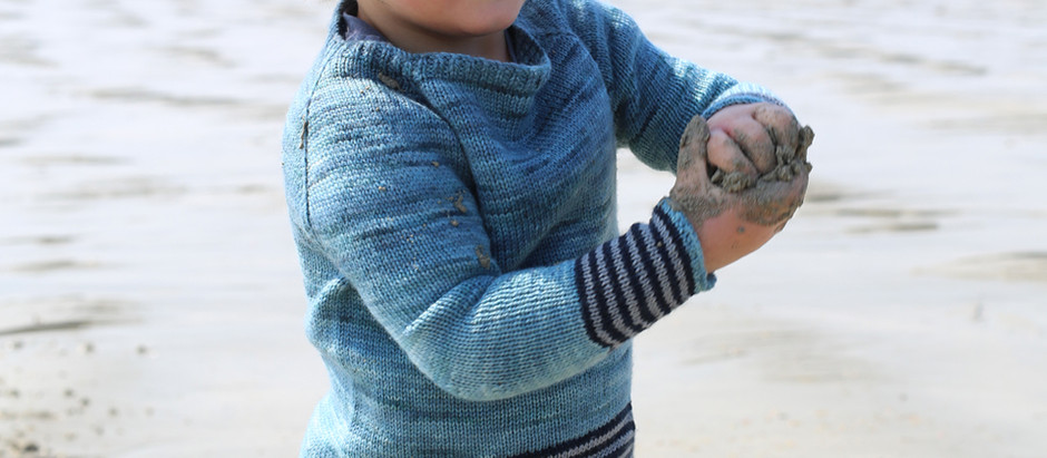 Little Danio Sweater, une marinière enfant à tricoter selon votre goût !