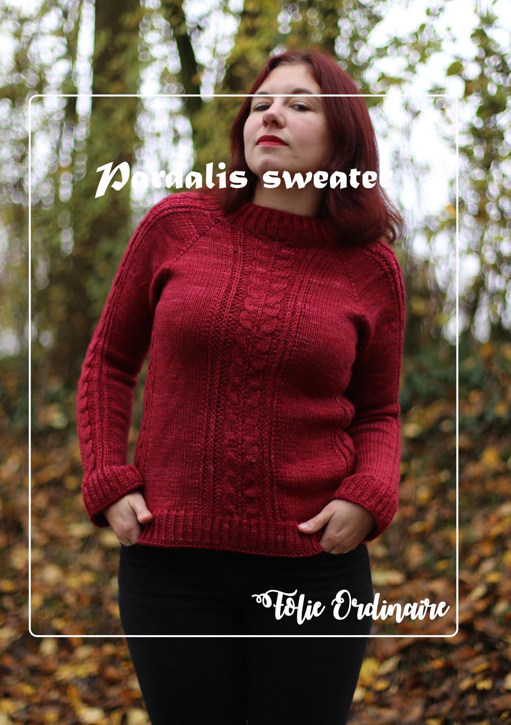 Pull torsade Pardalis - Tricot femme par Folie 0rdinaire Design