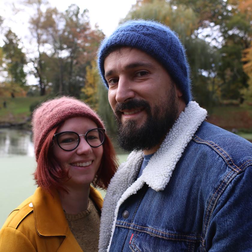 Bonnet mixte Lotor - Tricot homme et femme par Folie 0rdinaire Design