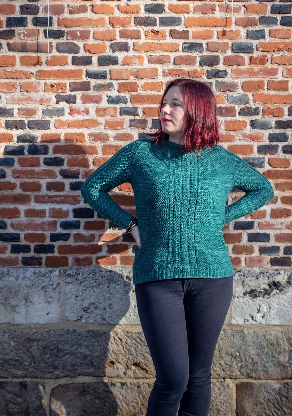 Pull Suchus pour femme - Tricot par Folie 0rdinaire Design