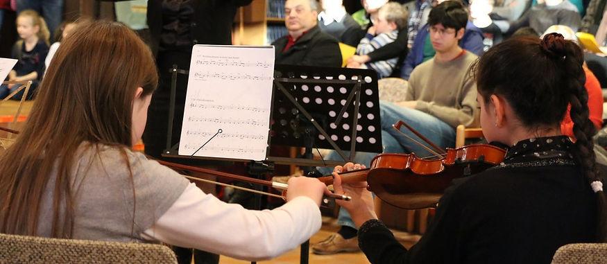 Musikunterricht im Verein in Suttgart
