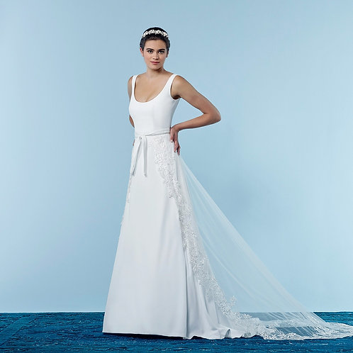 Bridal Overskirt ¦ Style S310-200