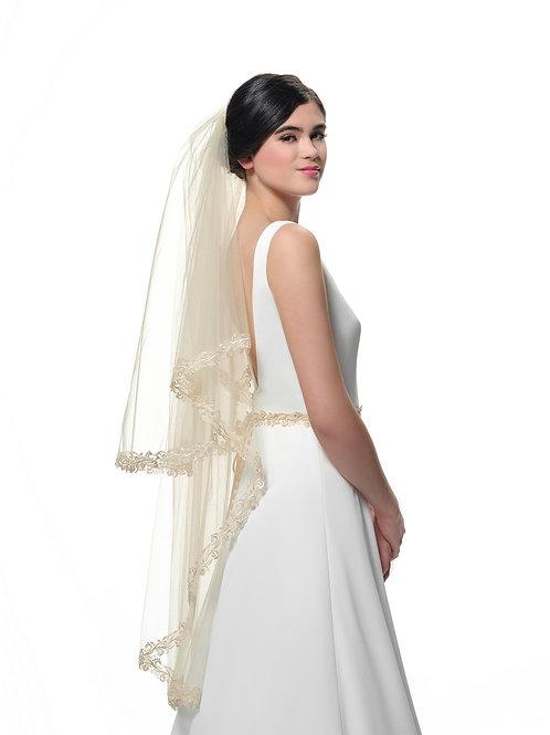 Porier Bridal Veil S356-120/2/MED