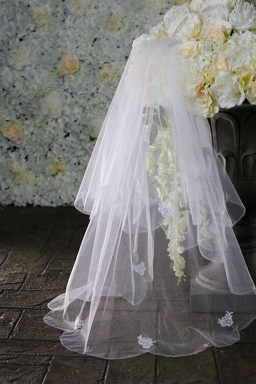 Warren York Bridal Veil - Style 2075