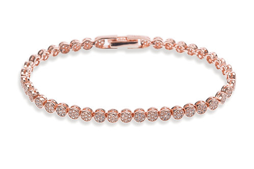 Rose Gold Modena Bracelet