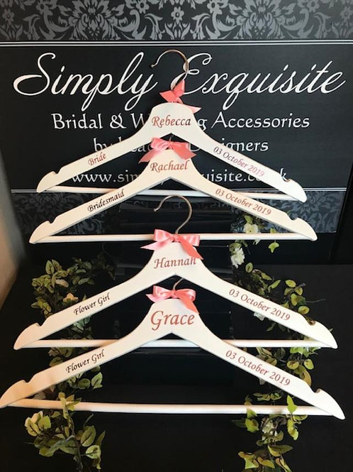 Personalised Wedding/Dress Hangers