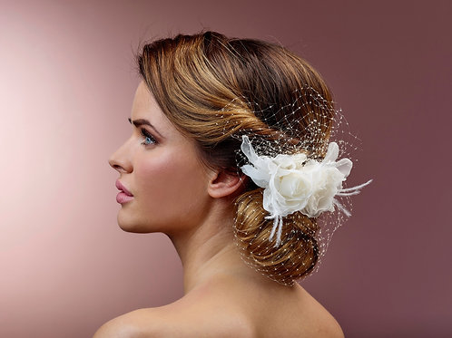 Poirier Hair Corsage BB-355