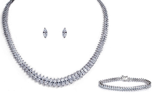 True Love Pendant, Bracelet and Earrings