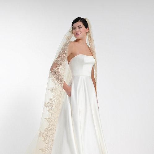 Porier Bridal Veil S357-280/1/MED