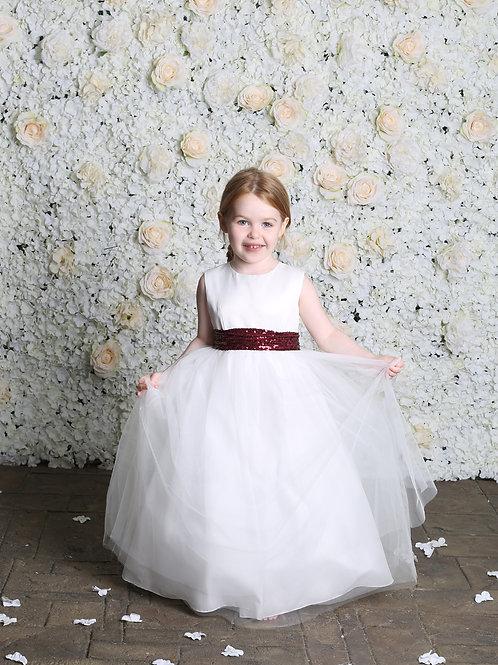 Hilary Morgan Flower Girl Dress: Style FG010
