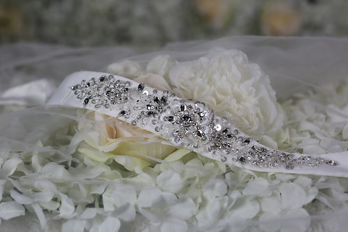 Warren York Wedding Dress Belt/Sash 014