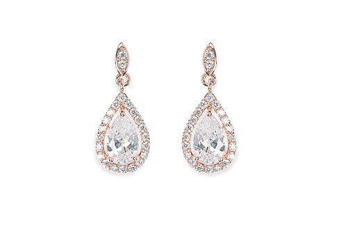 Rose Gold Belmont Earrings