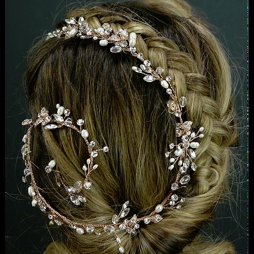 Hair Vine Style 3124 (Rose Gold)