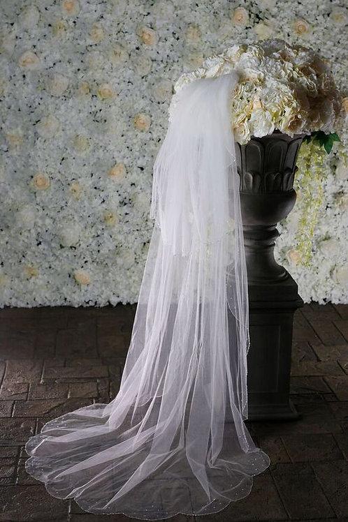 Warren York Bridal Veil - Style 987