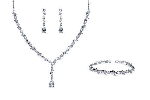 Andorra Earrings, Necklace & Bracelet