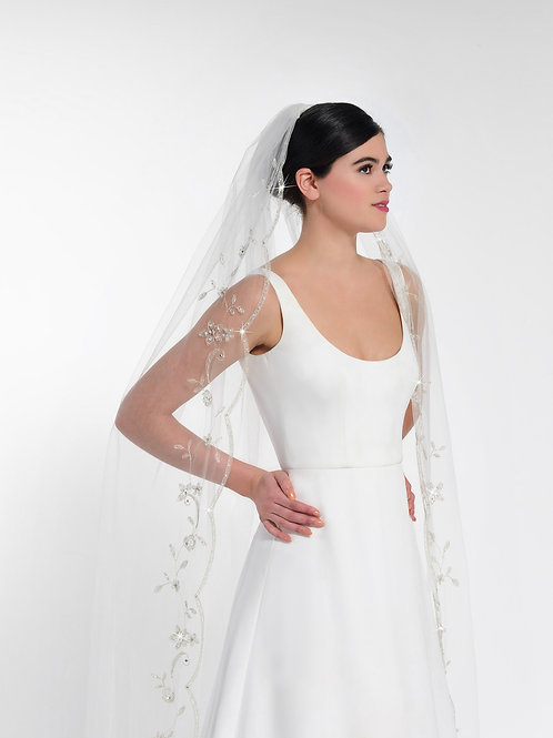 Porier Bridal Veil S211-300/1/MED