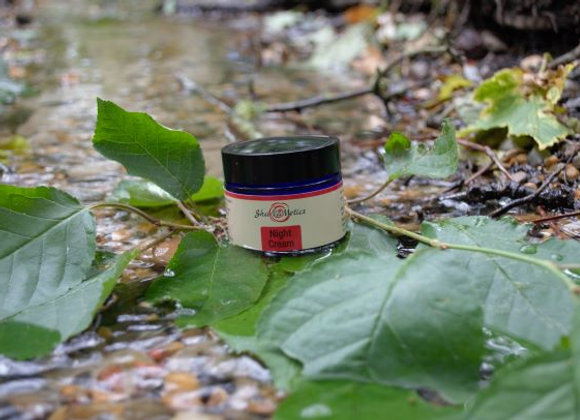 Night Cream with organic rosehip oil and rose oil
