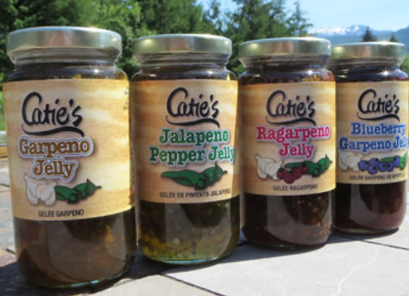 Assorted Catie's Jellies (250mL)