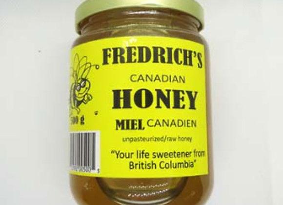 Fredrich's Liquid Honey (500g)