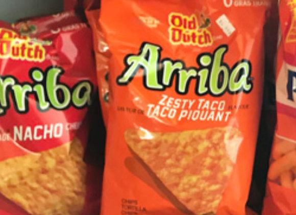Old Dutch Arriba Nacho Chips (245g)