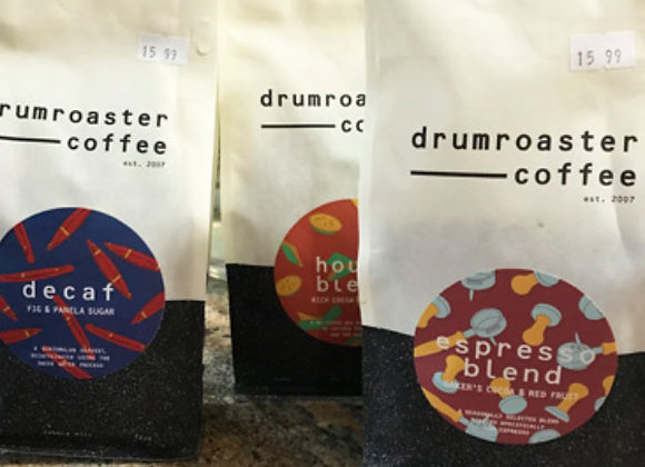 Assorted Drumroaster Coffee House Blends