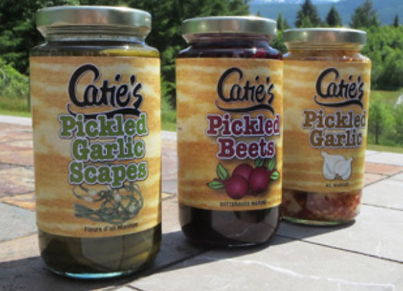 Assorted Catie's Pickled Products (375mL)