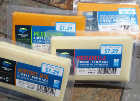 Assorted Paradise Island Cheeses