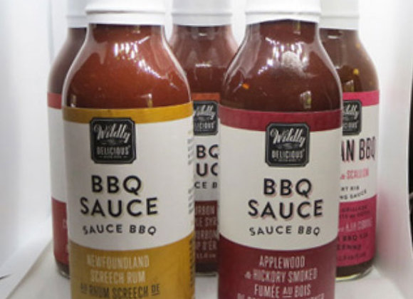 Assorted Wildly Delicious BBQ Sauces (350mL)