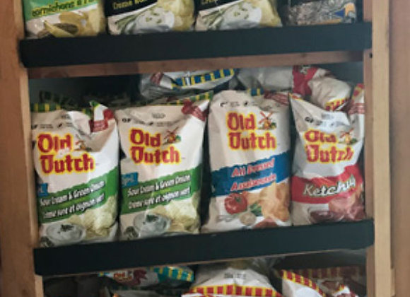 Assorted Old Dutch Potato Chips (255g)