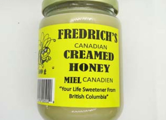 Fredrich's Creamed Honey (500g)